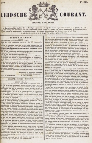 Leydse Courant 1879-12-09