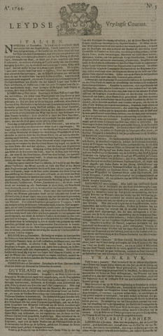 Leydse Courant 1744-01-10