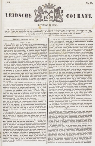 Leydse Courant 1876-04-22