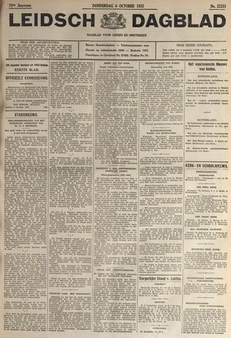 Leidsch Dagblad 1932-10-06
