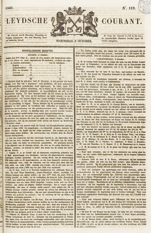Leydse Courant 1860-10-03