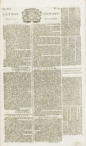 Leydse Courant 1819-01-22