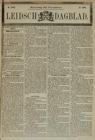Leidsch Dagblad 1890-11-29