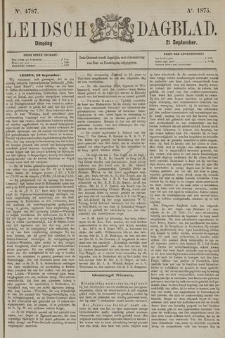 Leidsch Dagblad 1875-09-21