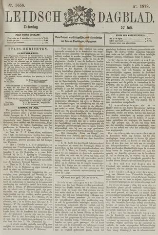 Leidsch Dagblad 1878-07-27