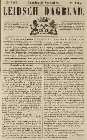 Leidsch Dagblad 1864-09-26