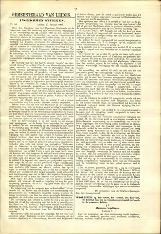 Handelingen van de Raad 1909-01-27