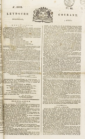 Leydse Courant 1844-04-03