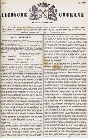 Leydse Courant 1879-11-14