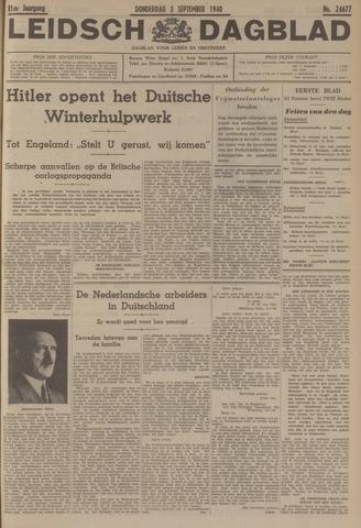 Leidsch Dagblad 1940-09-05