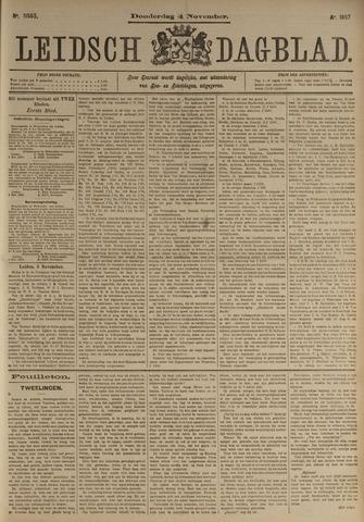 Leidsch Dagblad 1897-11-04