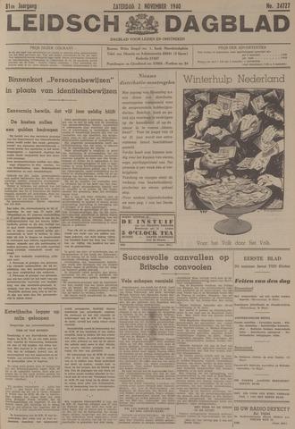 Leidsch Dagblad 1940-11-02