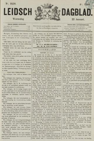 Leidsch Dagblad 1868-01-22