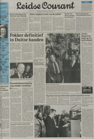 Leidse Courant 1992-10-29