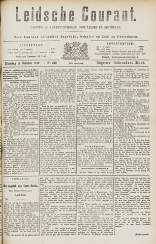 Leydse Courant 1889-10-15