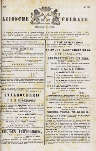 Leydse Courant 1879-04-21