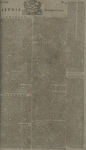 Leydse Courant 1743-03-18