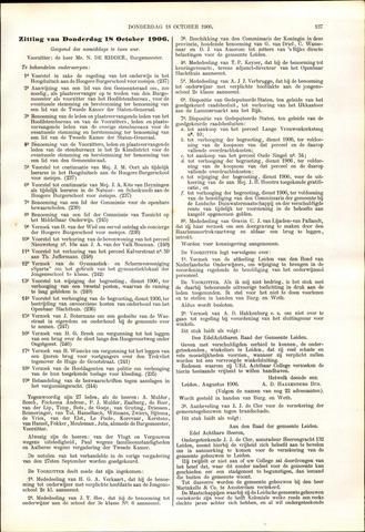 Handelingen van de Raad 1906-10-18