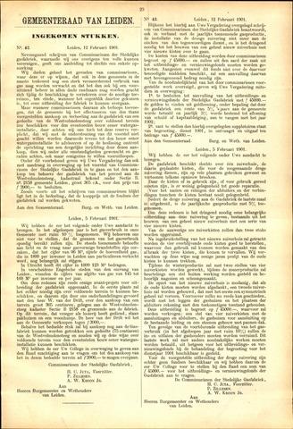 Handelingen van de Raad 1901-02-12
