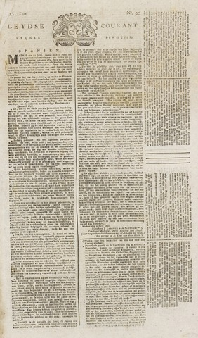 Leydse Courant 1820-07-28