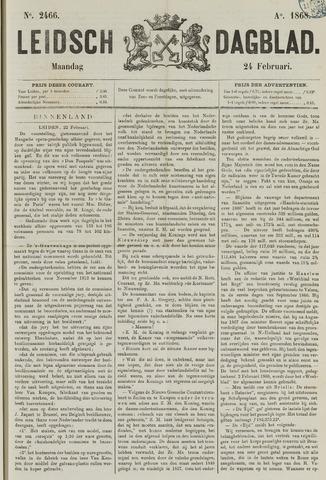 Leidsch Dagblad 1868-02-24