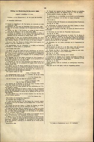Handelingen van de Raad 1881-12-22