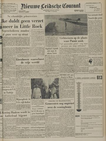 Nieuwe Leidsche Courant 1957-09-24