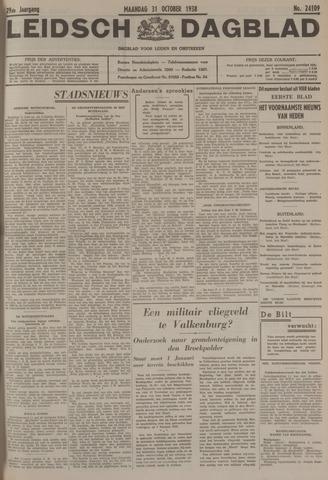 Leidsch Dagblad 1938-10-31