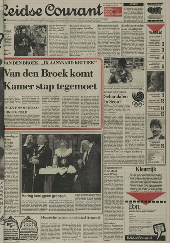 Leidse Courant 1988-09-22