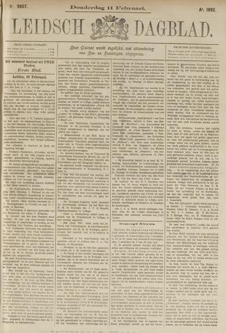 Leidsch Dagblad 1892-02-11