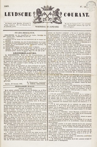 Leydse Courant 1865-01-25