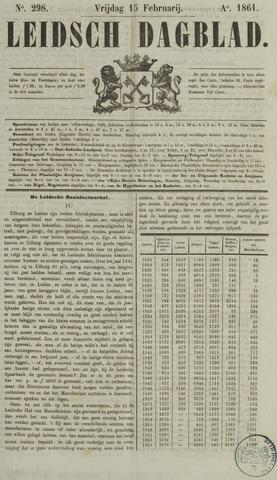 Leidsch Dagblad 1861-02-15