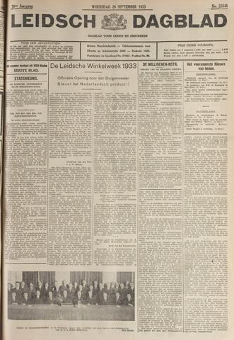 Leidsch Dagblad 1933-09-20