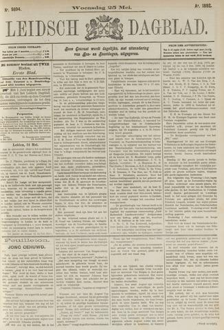 Leidsch Dagblad 1892-05-25