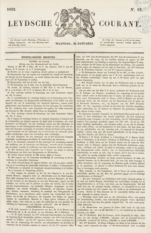 Leydse Courant 1852-01-26