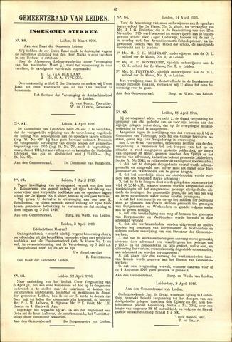 Handelingen van de Raad 1916-03-31