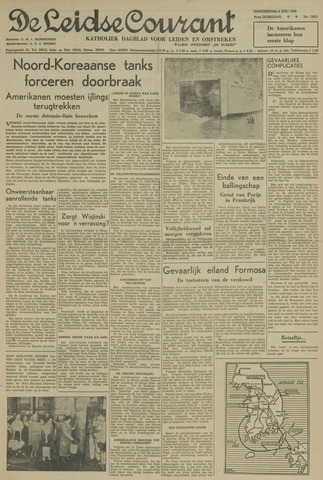 Leidse Courant 1950-07-06
