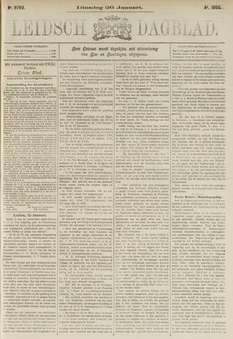 Leidsch Dagblad 1892-01-26