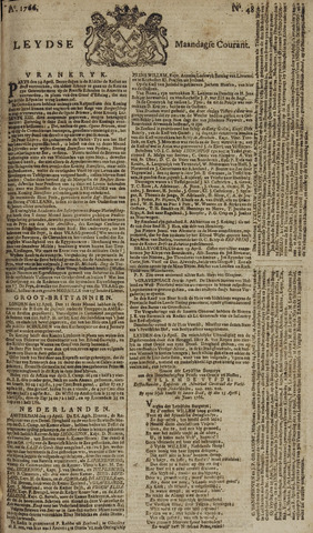 Leydse Courant 1766-04-21