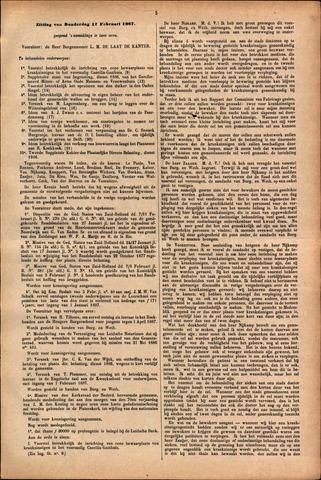 Handelingen van de Raad 1887-02-17
