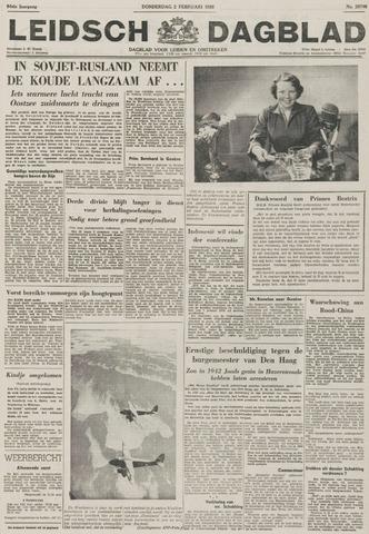 Leidsch Dagblad 1956-02-02