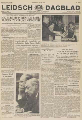 Leidsch Dagblad 1959-05-28