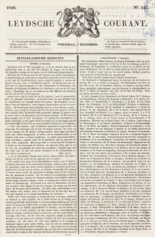 Leydse Courant 1846-12-09