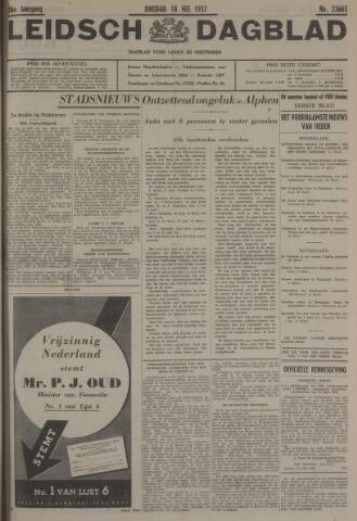 Leidsch Dagblad 1937-05-18