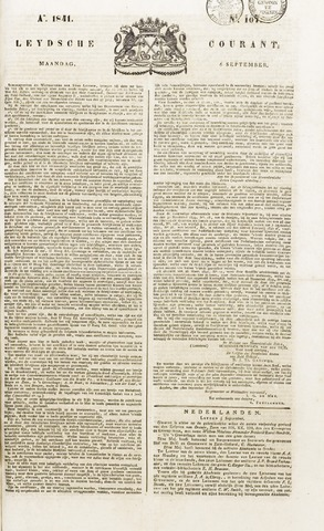 Leydse Courant 1841-09-06