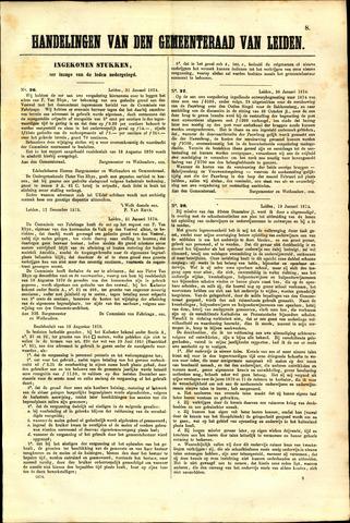 Handelingen van de Raad 1874-01-31