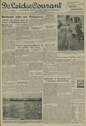 Leidse Courant 1955-09-05