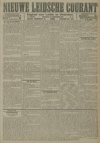 Nieuwe Leidsche Courant 1921-12-19