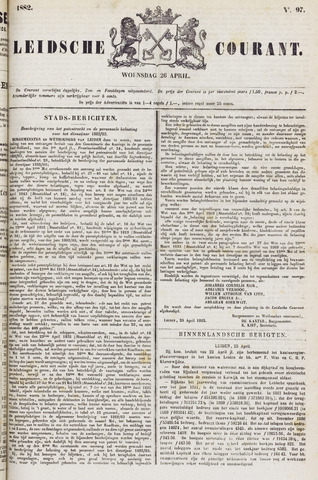 Leydse Courant 1882-04-26
