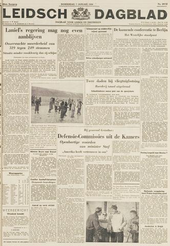 Leidsch Dagblad 1954-01-07